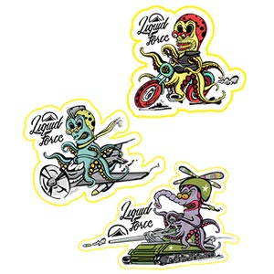 ALIEN 9 PACK STICKERS